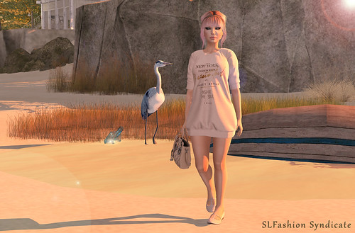 CasualPeachfull | by BriElla Ghost ♥ SLFashionSyndicate