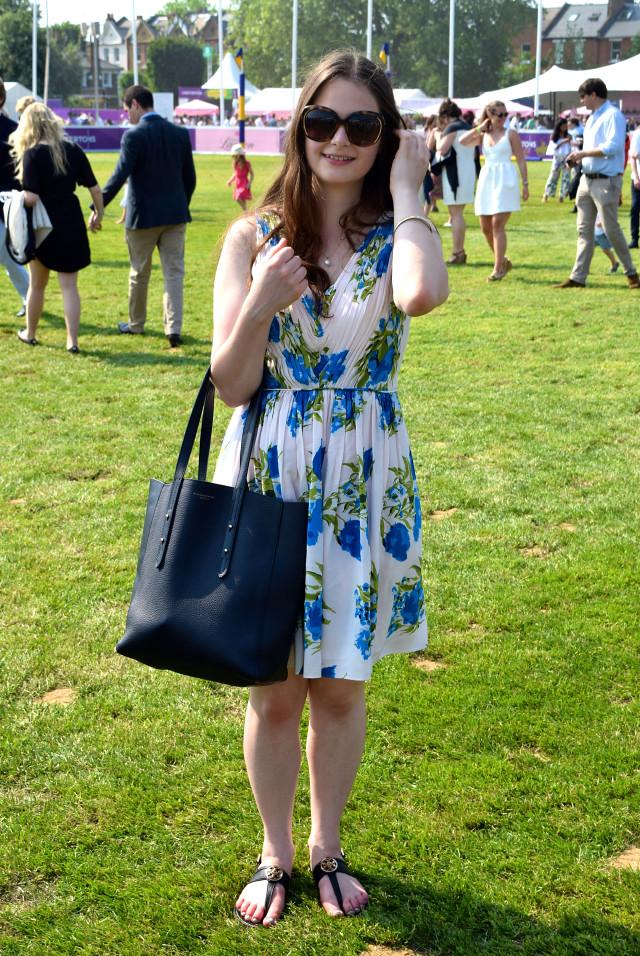 Boden Dress at Polo in the Park | www.rachelphipps.com @rachelphipps