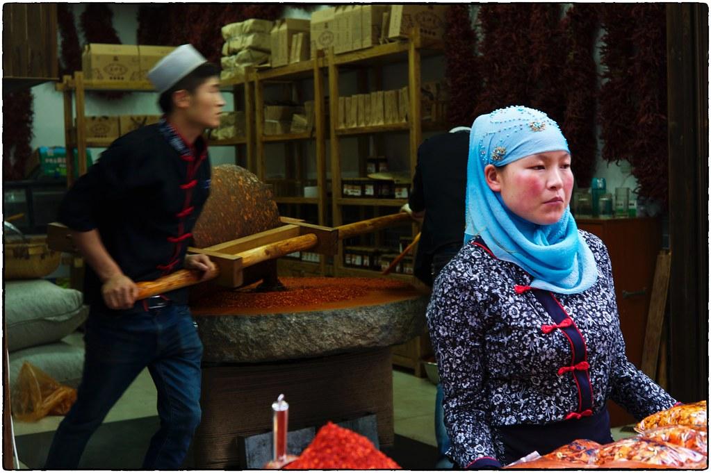 Pepper Grinders, Muslim Quarter, Xi'an, May 19, 2016