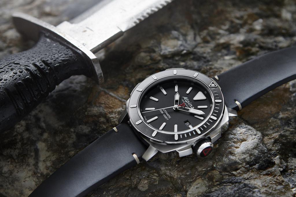 Alpina Watches Seastrong Diver Automatic Ref AL Flickr - Alpina diver