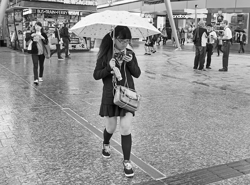 Texting In The Rain | by bidkev1 and son (see profile)