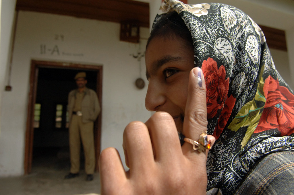 Image result for voting in india