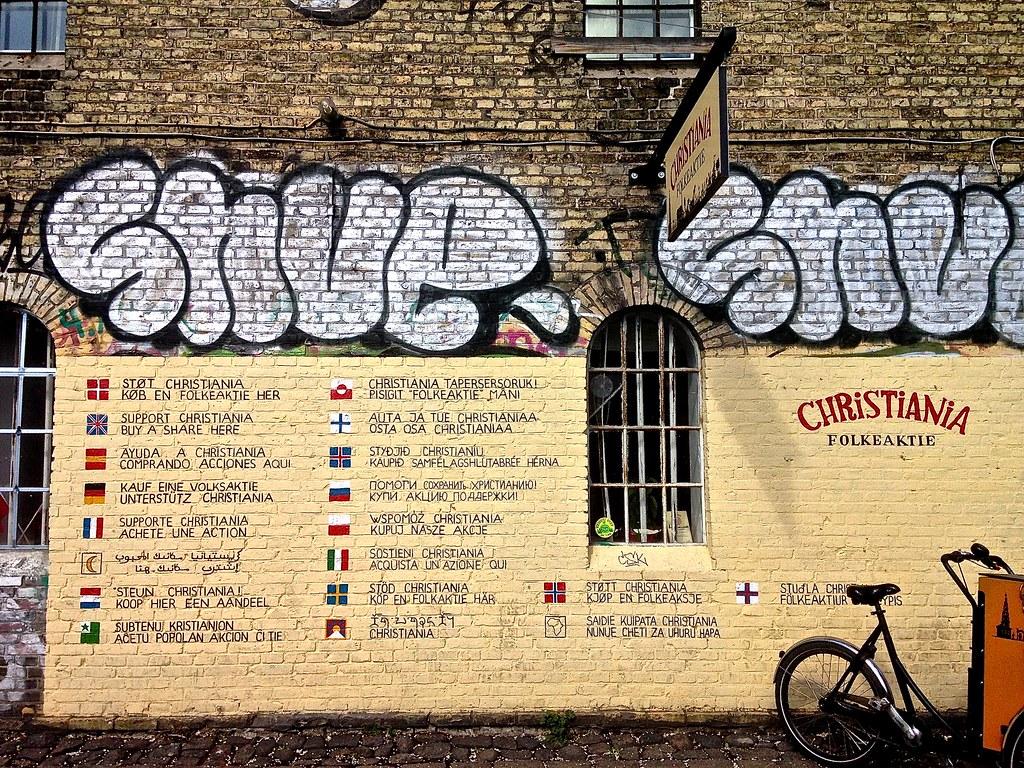Art on the Wall | Christiania, Copenhagen, Denmark. 13/4/15.… | Flickr