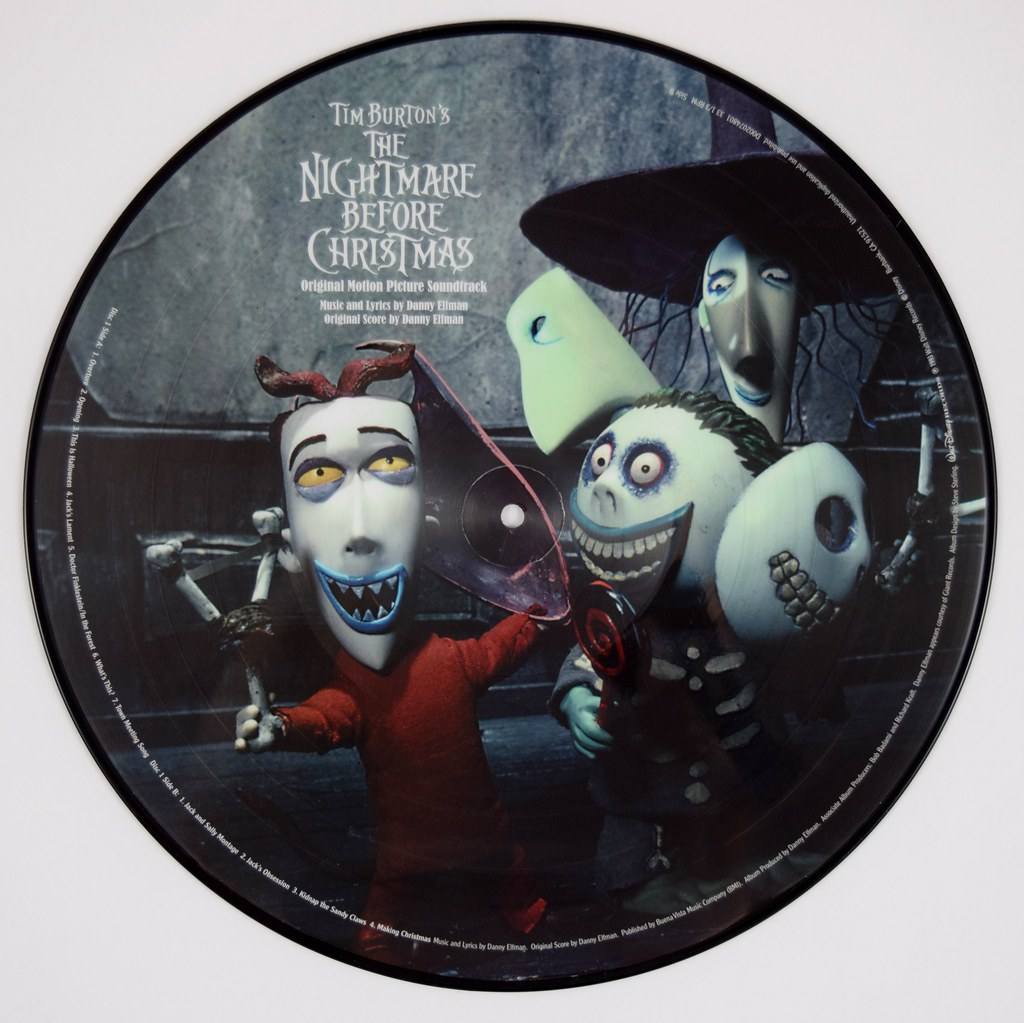 Picture Vinyl Record - The Nightmare Before Christmas - Di… | Flickr