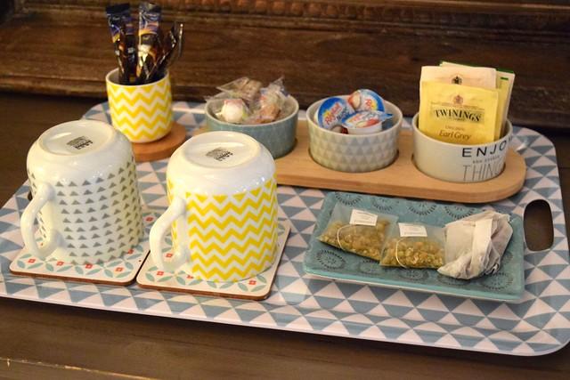 Bedroom Tea Tray at Manoir de Malagorse   www.rachelphipps.com @rachelphipps