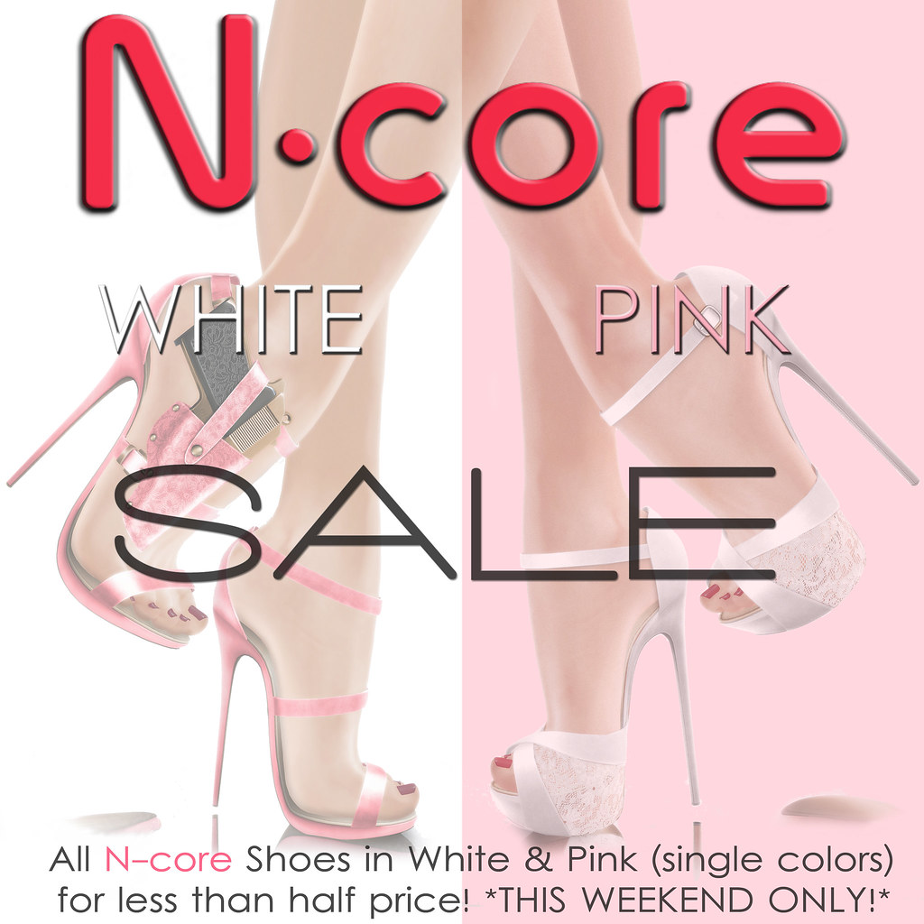 "N-core ""White & Pink"" SALE!"