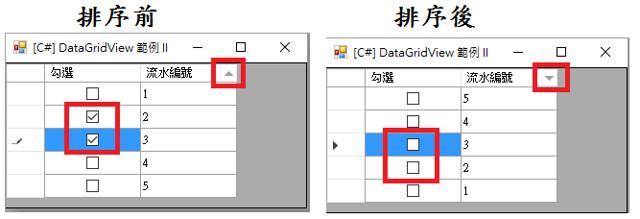 [C#] DataGridView 範例 II-1