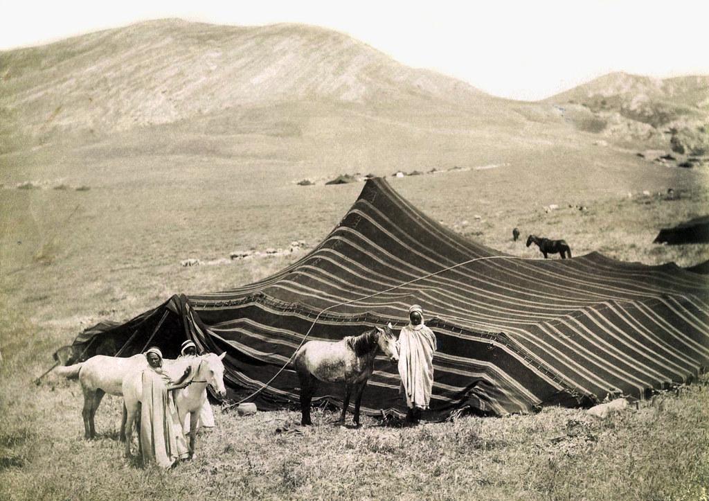 A Great Arab Tent Algeria 19th Century Benbouzid Flickr
