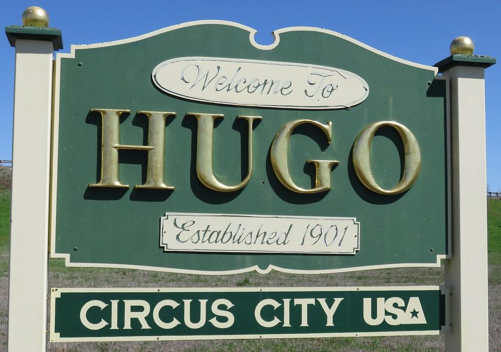 Where is hugo oklahoma