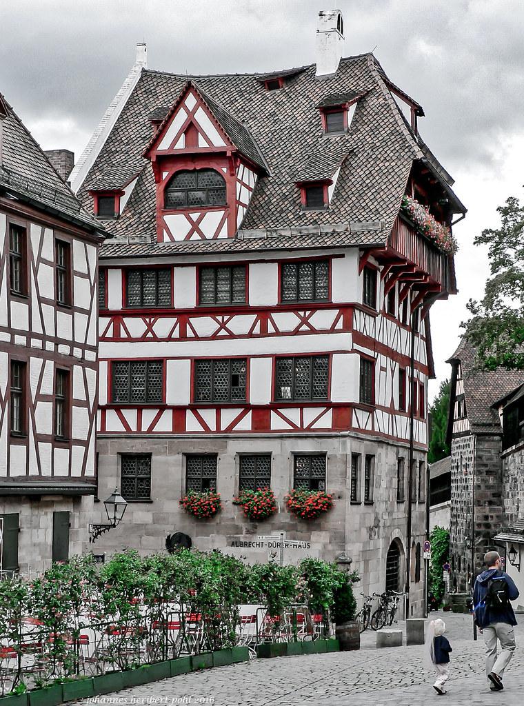Albrecht Dürer Haus in Nürnberg | In diesem Haus wohnte Albr… | Flickr