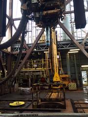 YP drilling rig visit