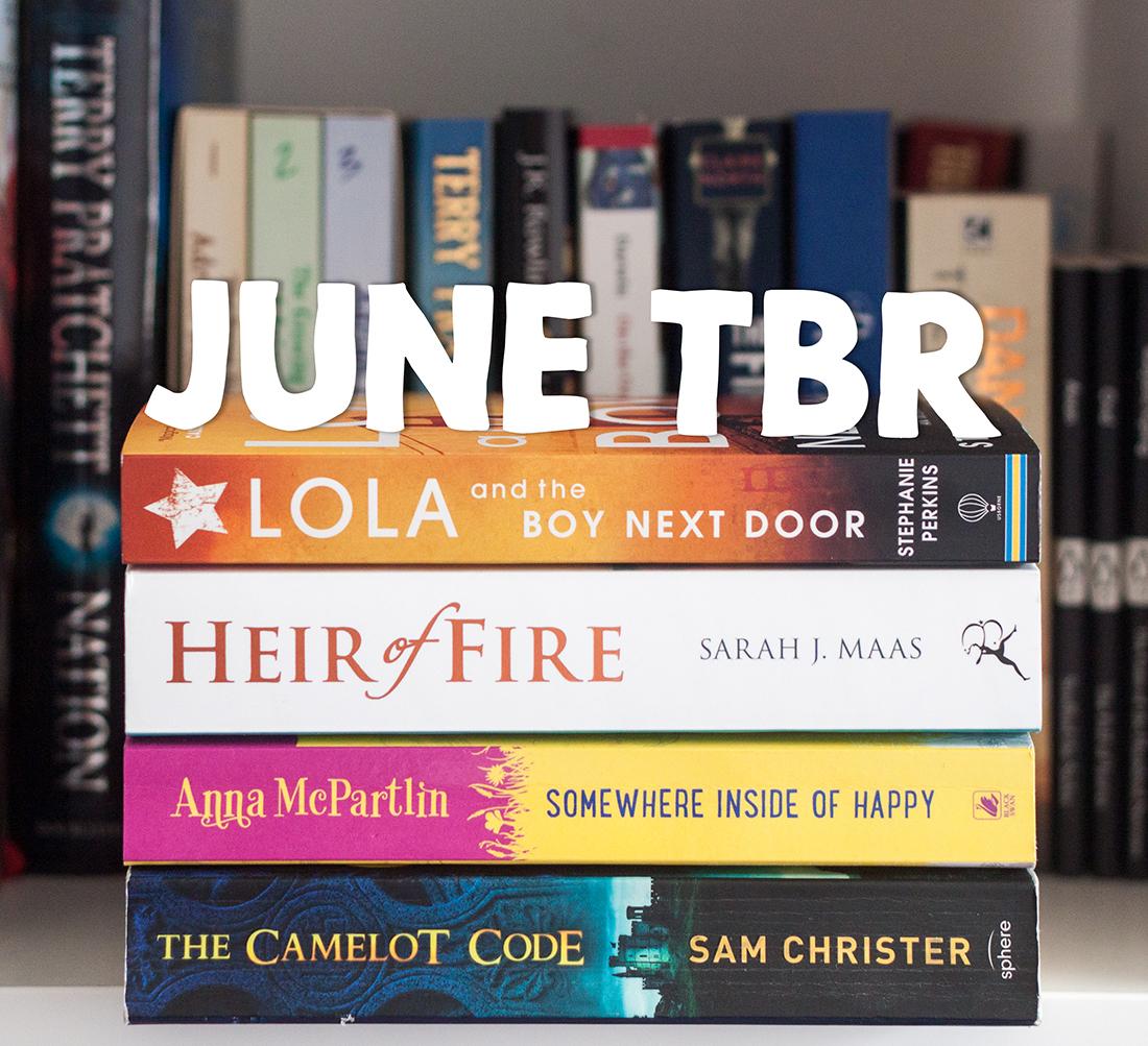 Books: June TBR | awaywithkatie.com