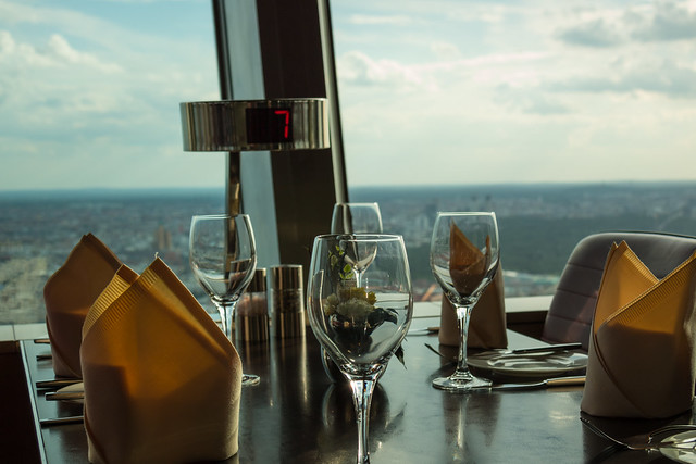 Dinner at the Fehrnsehturm