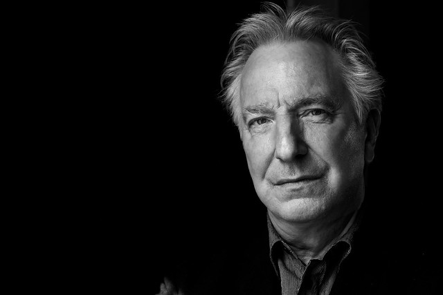 #Paris now #AlanRickman a great actor and director in front of my camera #interview @europe1 #lesjardinsduroi