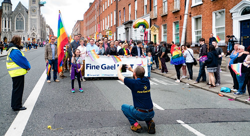 PRIDE PARADE AND FESTIVAL DUBLIN 2016 [FINE GAEL]-118201 | by infomatique