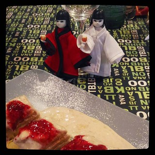 Food, glorious food, #LittleAppleDolls & desert, for #365days project, 184/365