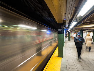 Subway music at speed | by Alf Branch