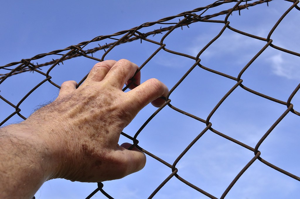 barbed wire fence prison. JobsForFelonsHub Prison Barbed Wire Fence Escape | By