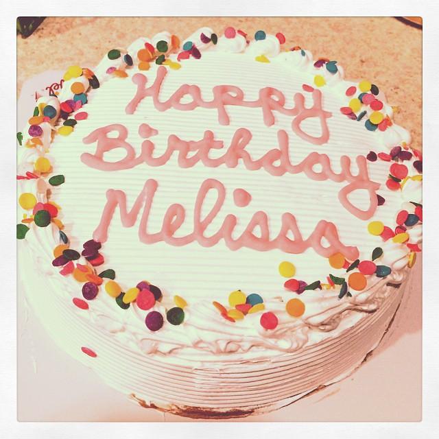 Admirable Birthday Cake Birthdaycake Birthday Yummy Carvel Happ Flickr Funny Birthday Cards Online Elaedamsfinfo