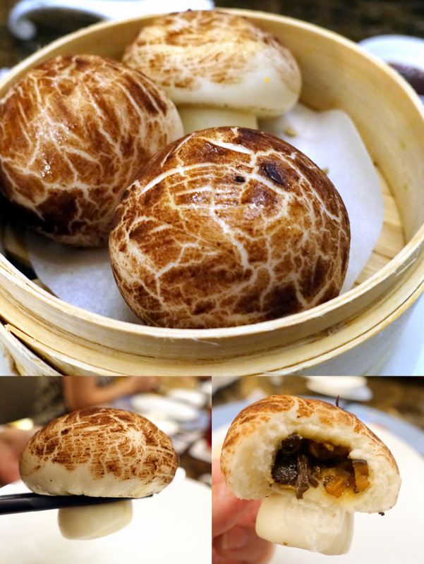 Conrad Manila's China Blue by Jereme Leung- Steamed Truffle Mushroom Buns P260