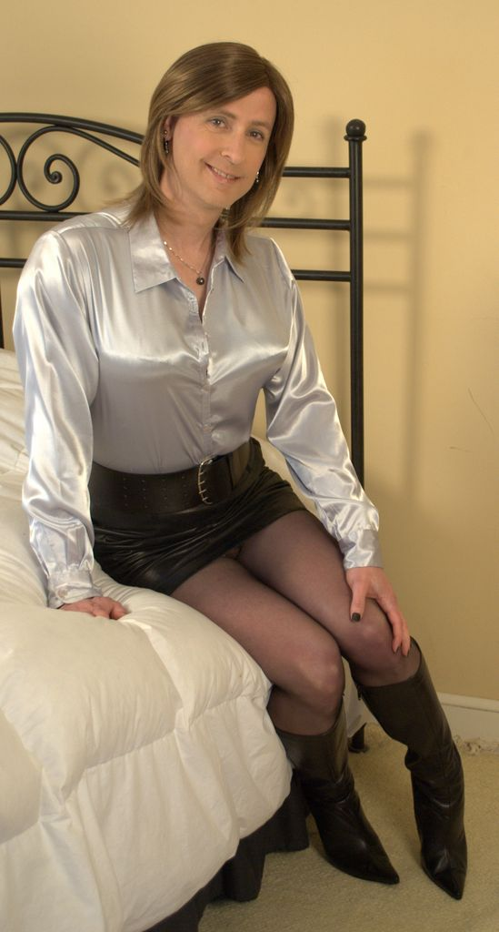 2015 April Leather Office Girl