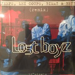 LOST BOYZ:JEEPS,LEX COUPS,BIMAZ & BENZ(JACKET A)