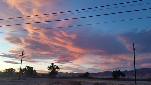 Red Sky over Fernley