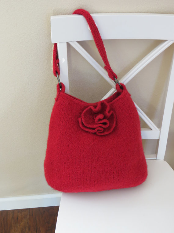 Knit Bag Pattern, Felted Purse Pattern, Knit Purse, Knitti… | Flickr