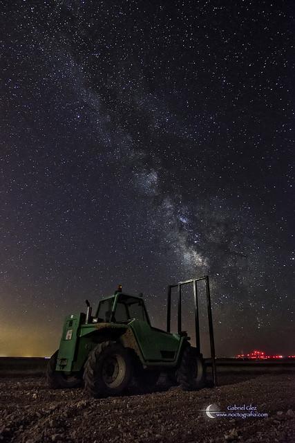 Máquina y Vía Láctea