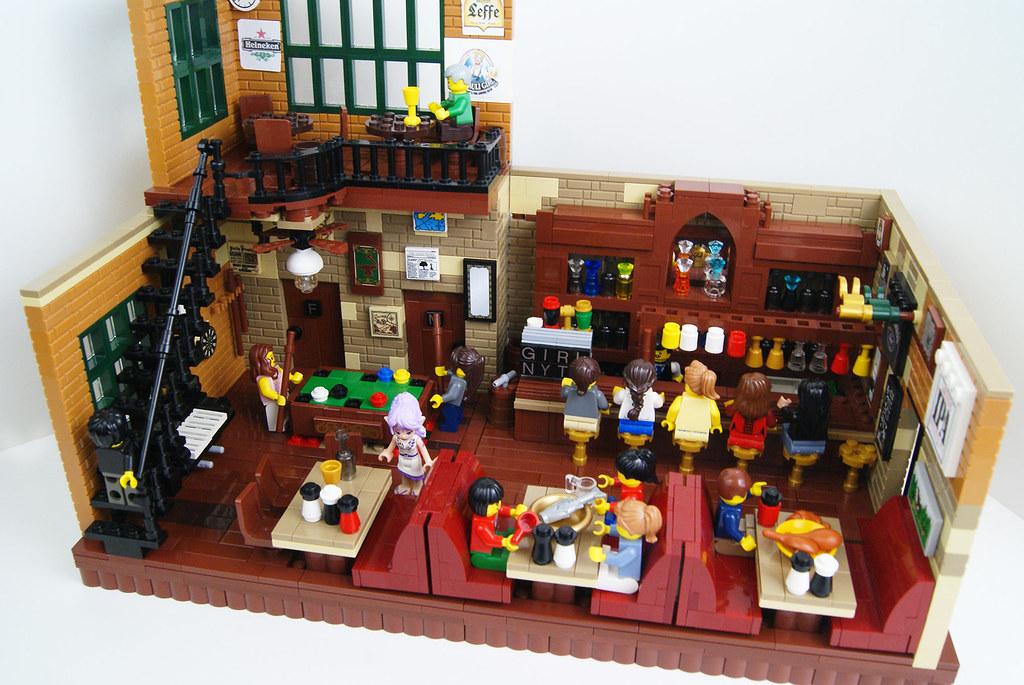 Gallery Lego Art » Lego Bar