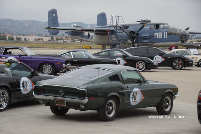 The Steve McQueen Rally, with proceeds supporting Boys Republic