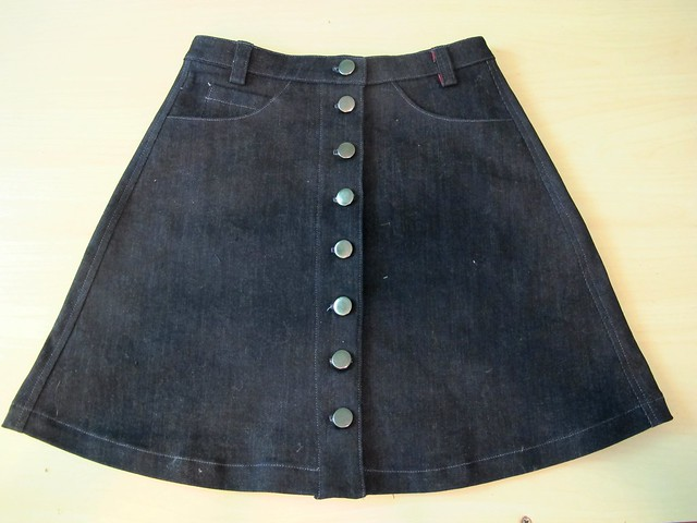 Denim Rosari Skirt