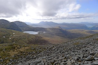 West from Beinn Liath Mhor Fannaich | by Nick Bramhall