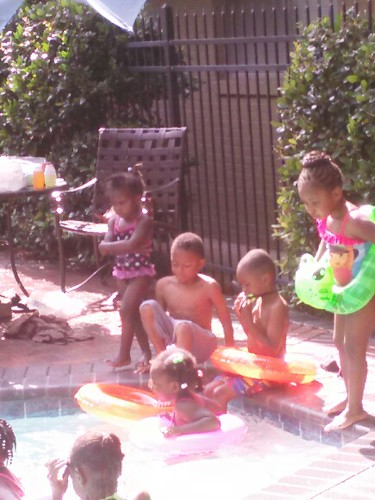 Jamon, Chris, And Jazz In Pool
