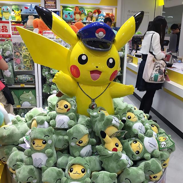 Pokemon Store at Tokyo Station