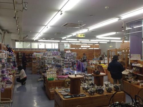 hokkaido-michinoeki-minamifurano-shop-inside