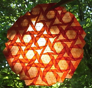 Open Hexagon twist only (even smaller triangles) | by modular.dodecahedron