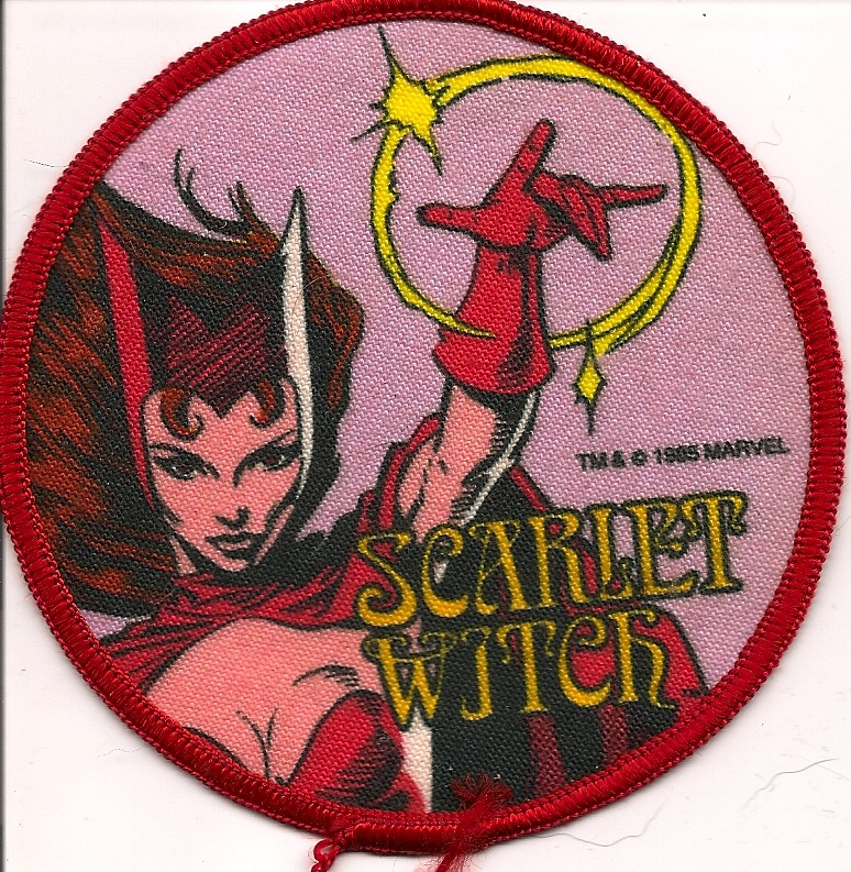 Scarlet Witch Patch 1985 Donald Deveau Flickr