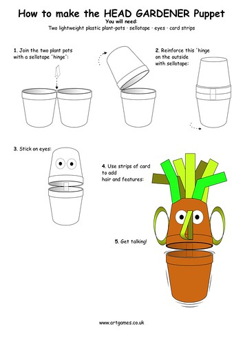 HEAD GARDENER PUPPET | by jimartgames