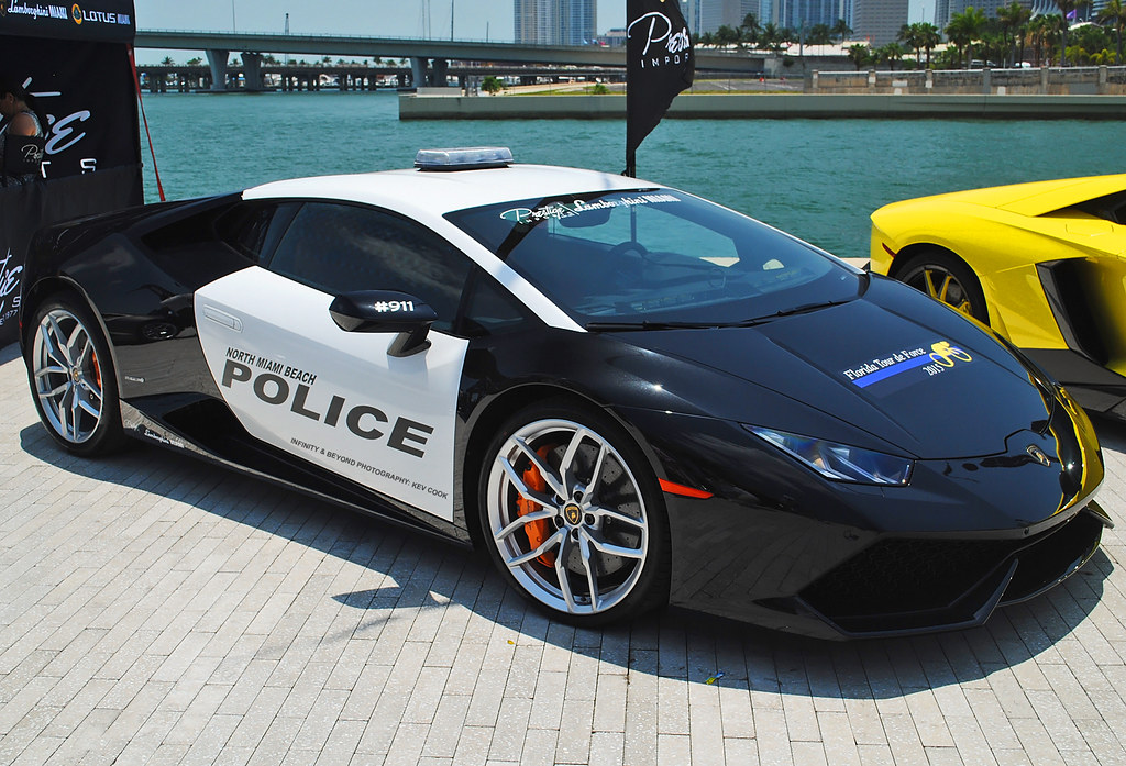 Lamborghini Huracan Police Car Pace Car Provided By Presti Flickr