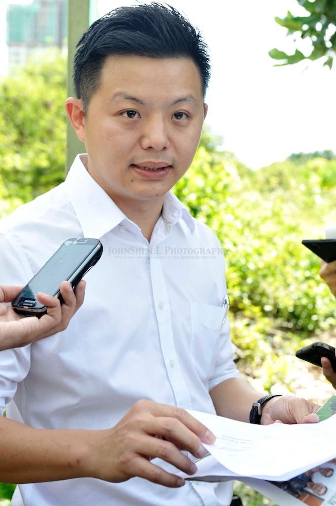Press Conference By Jason Loo (Penang Gerakan Acting Youth Chief) On Undersea Tunnel & 3 Expressway (31 May 2016)