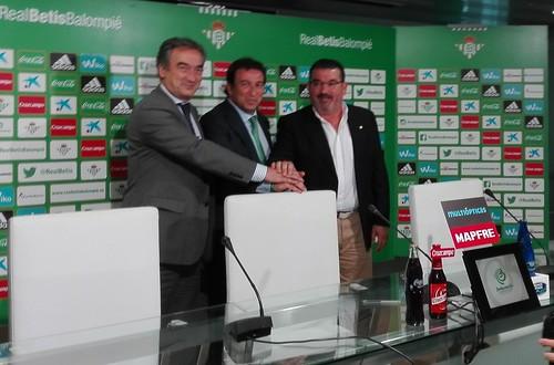 Presentación del nuevo equipo del Real Betis Futsa