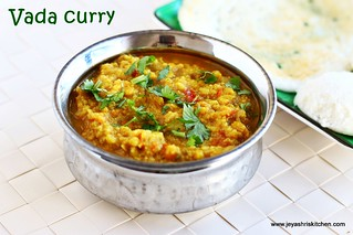 Vada-curry