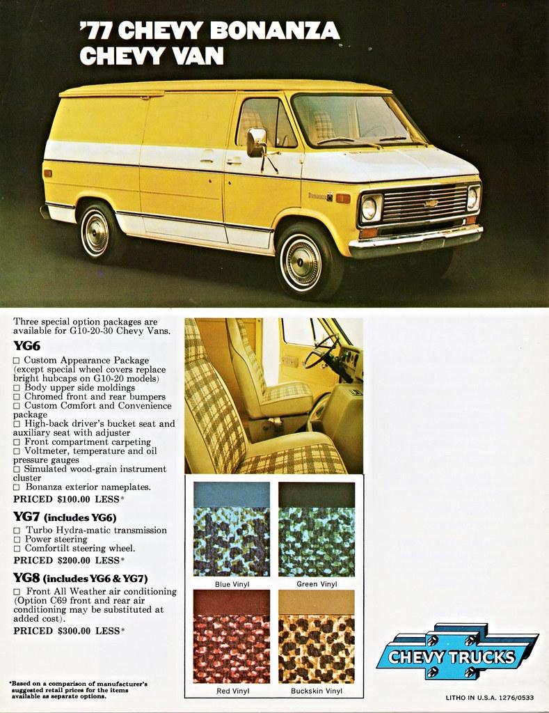 1977 Chevrolet Chevy Van Bonanza Package | Alden Jewell | Flickr