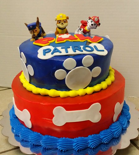 PAW Patrol cake | by angelinamarie72