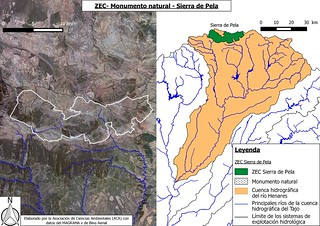 ZEC - Monumento natural - Sierra de Pela