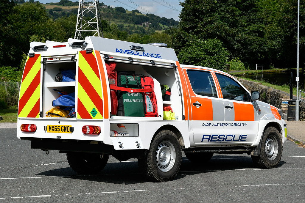 MX65 GWO 02 | Latest vehicle for Calder Valley Search & Resc… | Flickr
