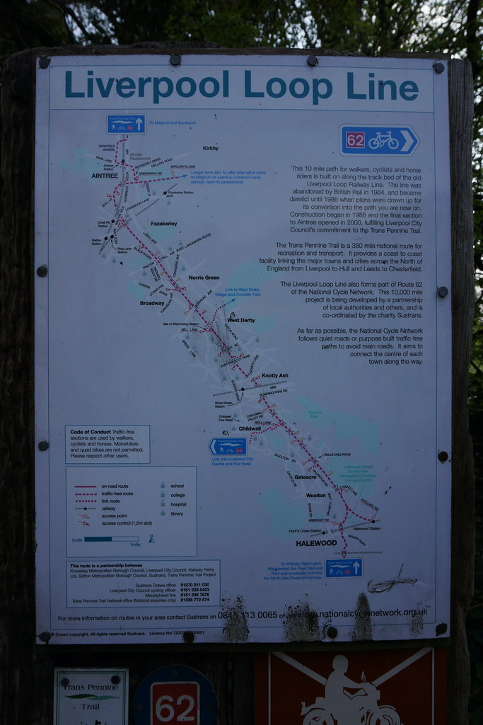 15b274Gateacre Liverpool Loop Line Cycle Path map Felixjaz