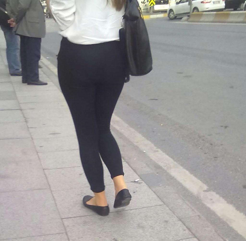 Black ass in public