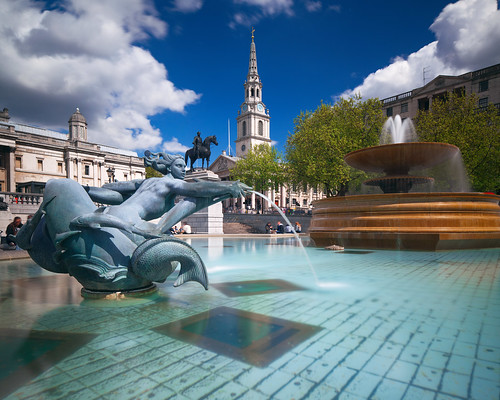 London - Trafalgar Square in Spring | by kenny mccartney